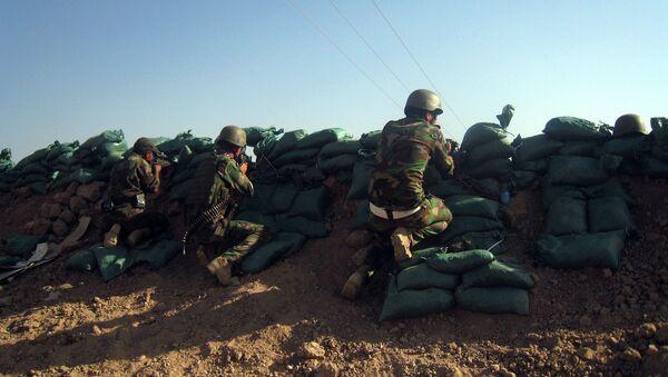 Курдские военные в Ираке. Архивное фото. - Sputnik Абхазия