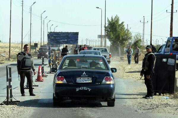 Египетская полиция в Синае. Архивное фото. - Sputnik Абхазия