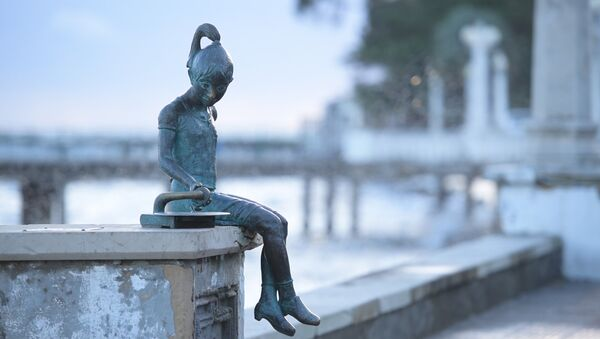 Скульптура Ника - Sputnik Абхазия