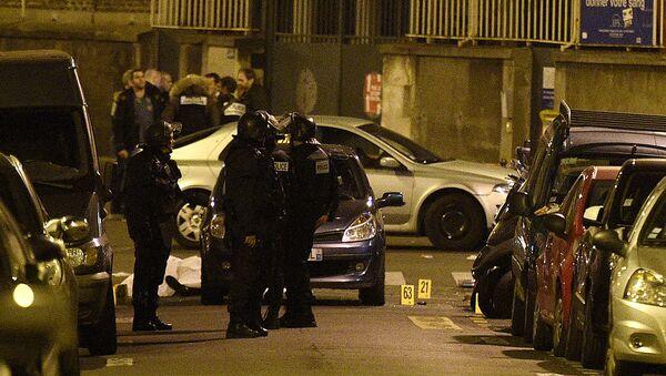 На месте теракта в Париже. - Sputnik Абхазия