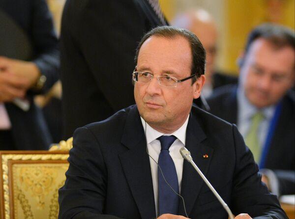 Президент Франции Франсуа Олланд. Архивное фото. - Sputnik Абхазия