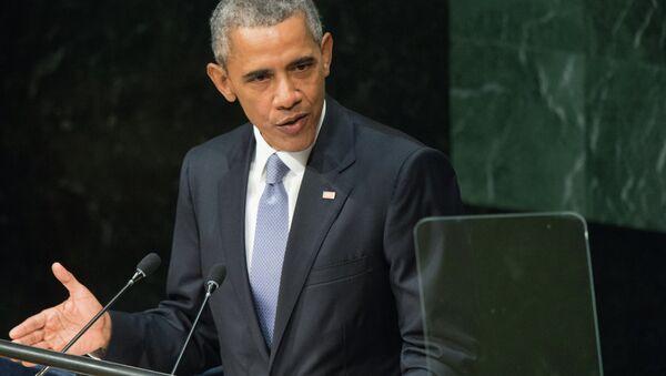 Президент США Барак Обама. - Sputnik Абхазия