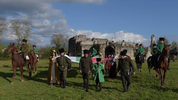 Этнокультурный праздник на Лыхнаште. Фото с места события. - Sputnik Абхазия