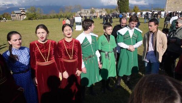 Фольклорный прадзник Связь поколений состоялся в Лыхны - Sputnik Абхазия