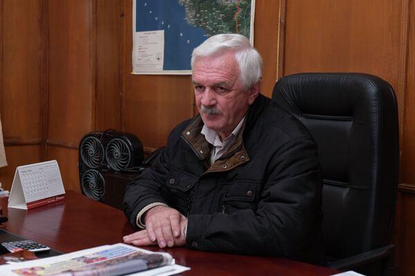 Юрий Барганджия, директор троллейбусного управления г.Сухум. - Sputnik Абхазия