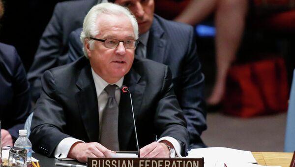 Постоянный представитель РФ при ООН Виталий Чуркин. Архивное фото. - Sputnik Абхазия