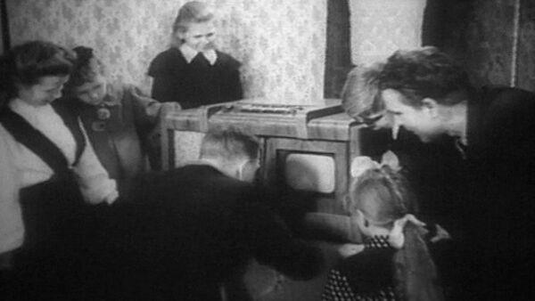Первые шаги советского телевидения. Кадры из архива - Sputnik Абхазия