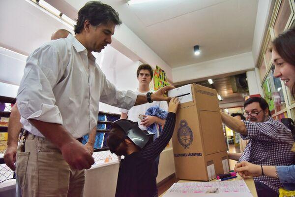 Второй тур президентских выборов в Аргентине. Архивное фото - Sputnik Абхазия