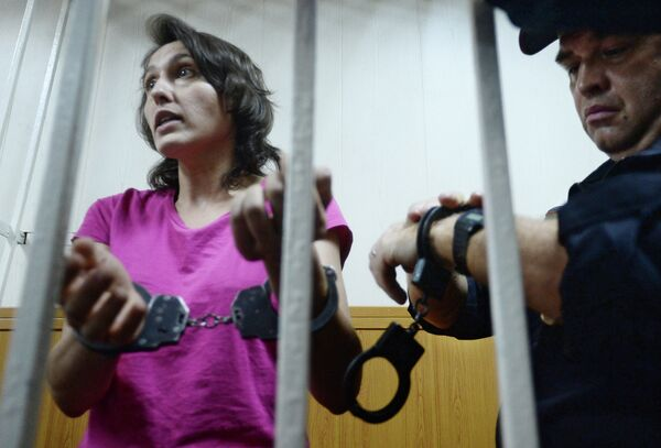 Рассмотрение ходатайства следствия об аресте Виктории Павленко, обвиняемой в краже собаки-поводыря. Архивное фото - Sputnik Абхазия