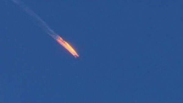 Су-24 был сбит над Сирией ракетой воздух-воздух ВВС Турции. - Sputnik Абхазия
