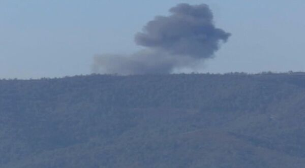 Момент обстрела российских журналистов RT и ТАСС в Сирии - Sputnik Абхазия