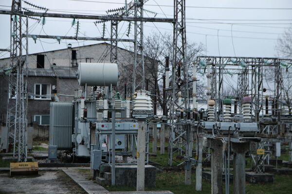 Ситуация с энергоснабжением Крыма. Архивное фото - Sputnik Абхазия