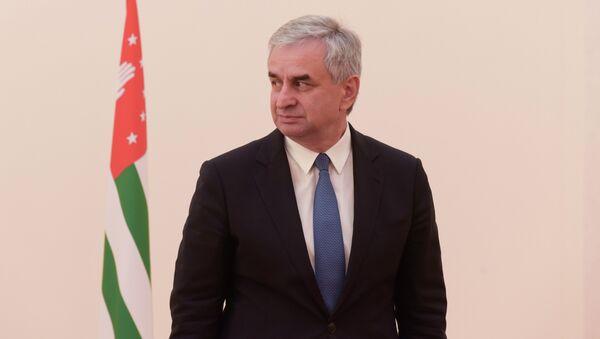 Президент Абхазии Рауль Хаджимба. - Sputnik Абхазия