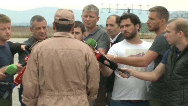 Первое после спасения интервью штурмана сбитого в Сирии Су-24 - Sputnik Абхазия