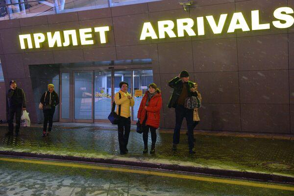 Туристы из Египта вернулись в Россию. Архивное фото - Sputnik Абхазия