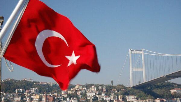 Флаг Турции. Архивное фото. - Sputnik Абхазия