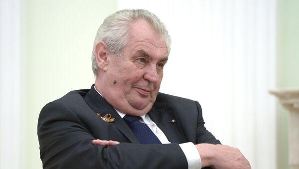 Чехиа ахада Милош Земан - Sputnik Аҧсны