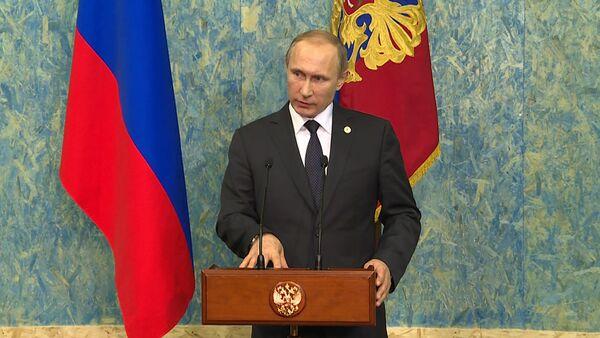 Это огромная ошибка – Путин о решении Турции сбить российский Су-24 в Сирии - Sputnik Абхазия