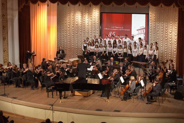 Юбилейный концерт музучилища. - Sputnik Абхазия
