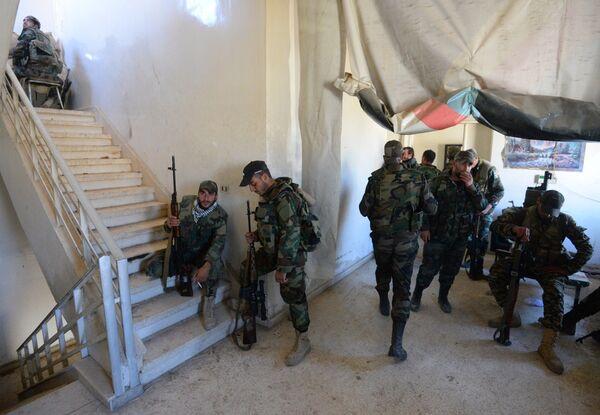 Спецоперация САА в пригороде Дамаска Думе. Архивное фото - Sputnik Абхазия