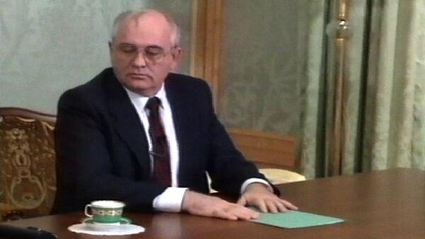 Горбачев покидает Кремль – конец советской эпохи. Съемки 1991 года - Sputnik Абхазия