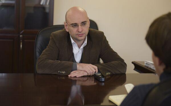 Генеральный директор Черноморэнерго Аслан Басария. - Sputnik Абхазия