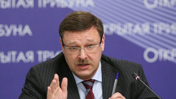 Константин Косачев. Архивное фото - Sputnik Абхазия