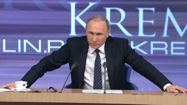 Путин о готовности РФ сотрудничать с Турцией до инцидента с Су-24 - Sputnik Абхазия
