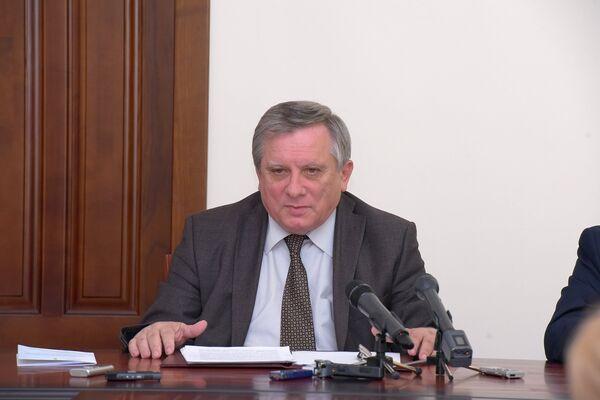 Пресс-конференция Миквабия. - Sputnik Абхазия