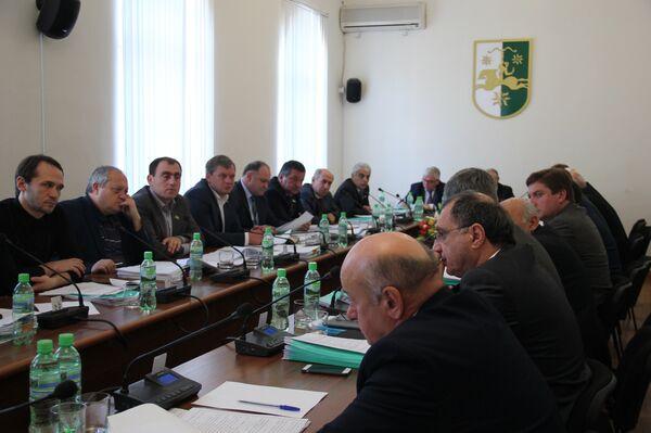 заседание парламента РА - Sputnik Абхазия