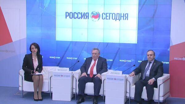 LIVE: Пресс-конференция премьер-министра Абхазии Артура Миквабия - Sputnik Абхазия
