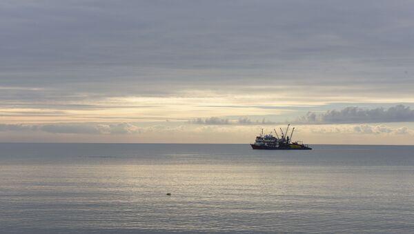 Корабль в Черном море - Sputnik Абхазия