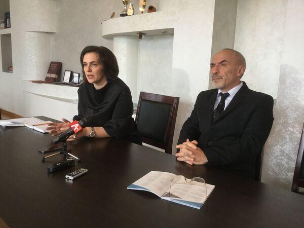 Пресс-конференция министра культуры Абхазии - Sputnik Абхазия