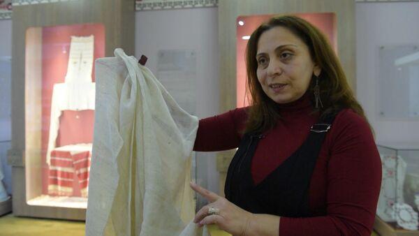 Этнолог рассказала об уникальной технике шитья домотканых полотенец - Sputnik Абхазия