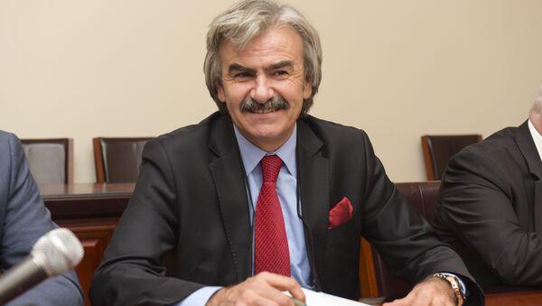 Председатель Абхазфед Ахмед Хапат. - Sputnik Аҧсны