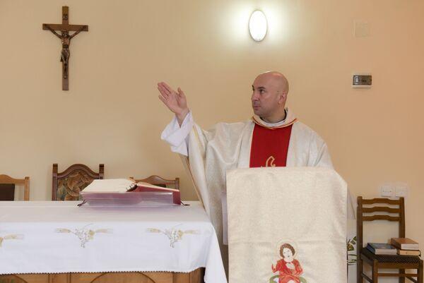 Католики Абхазии отметили Рождество. Фото с места события. - Sputnik Абхазия