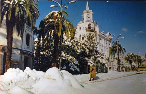Сухум.Зима 1993. - Sputnik Абхазия