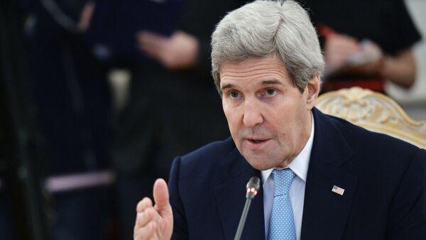 Государственный секретарь Соединенных Штатов Америки Дж.Керри. Архивное фото - Sputnik Абхазия