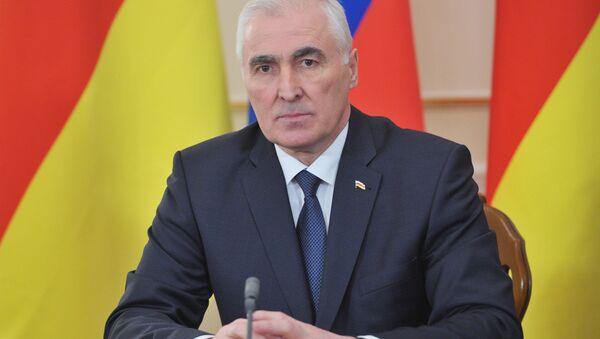Глава Южной Осетии Леонид Тибилов. Архивное фото - Sputnik Абхазия