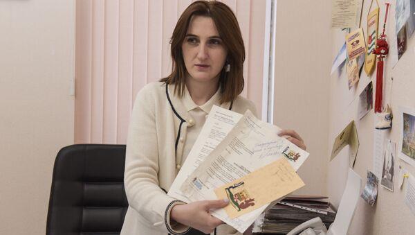 Начальник международных связей администрации города Сухум Ирина Шония. - Sputnik Абхазия