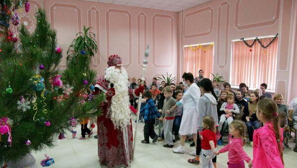Всероссийский Дед Мороз посетил Севастополь - Sputnik Аҧсны