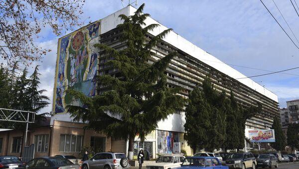 Рыночный комплекс Сухумприбор.  - Sputnik Абхазия