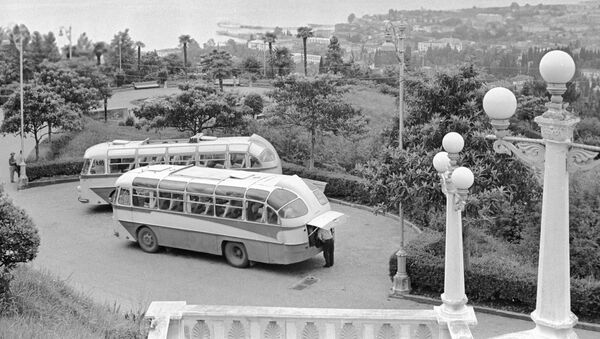 Вид на город Сухум. 01.07.1966. - Sputnik Абхазия