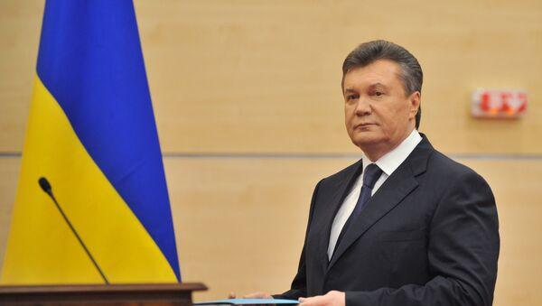 В.Янукович. Архивное фото - Sputnik Абхазия