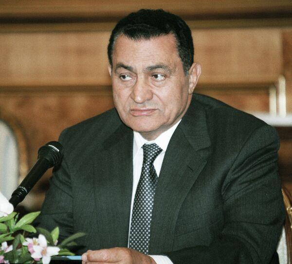 Президент Египта Хосни Мубарак. Архивное фото - Sputnik Абхазия