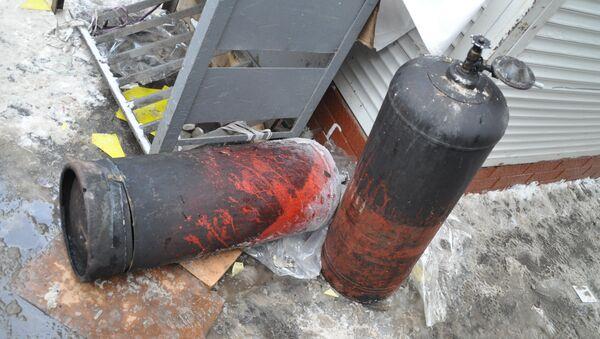 Последствия взрыва в центре Кишинева. Баллоны - Sputnik Абхазия