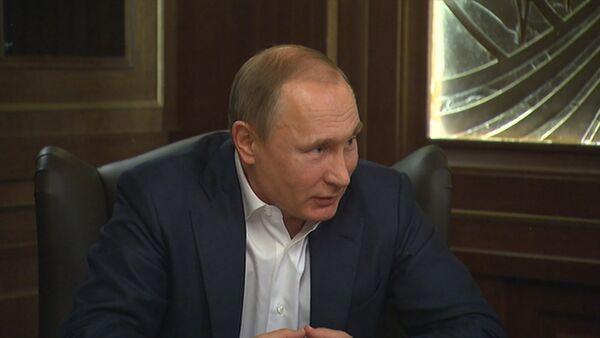 Странновато и унизительно – Путин о действиях Турции после инцидента с Су-24 - Sputnik Абхазия