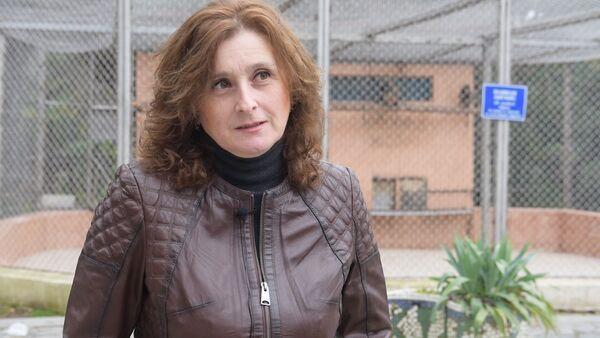 Альдона Салакая рассказала о попытке побега павиана из клетки за хлебом - Sputnik Абхазия