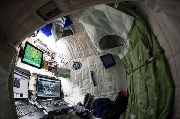 Каюта астронавта Скотта Келлу. Архивное фото. - Sputnik Абхазия