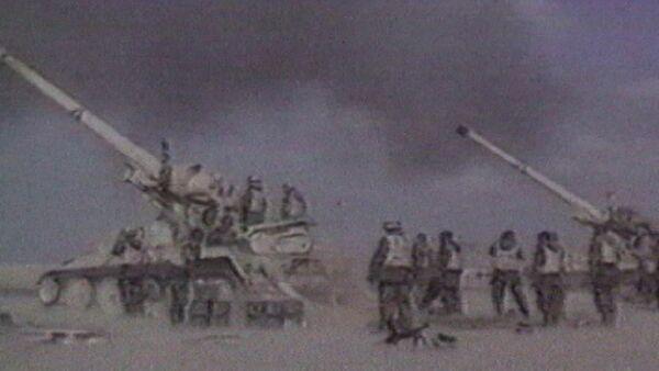 Буря в пустыне - США наказывают Ирак. Кадры из архива - Sputnik Абхазия